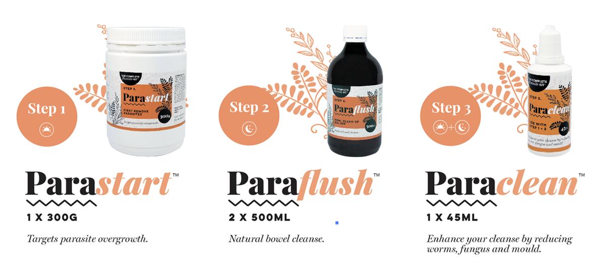 3 step parasite removal program